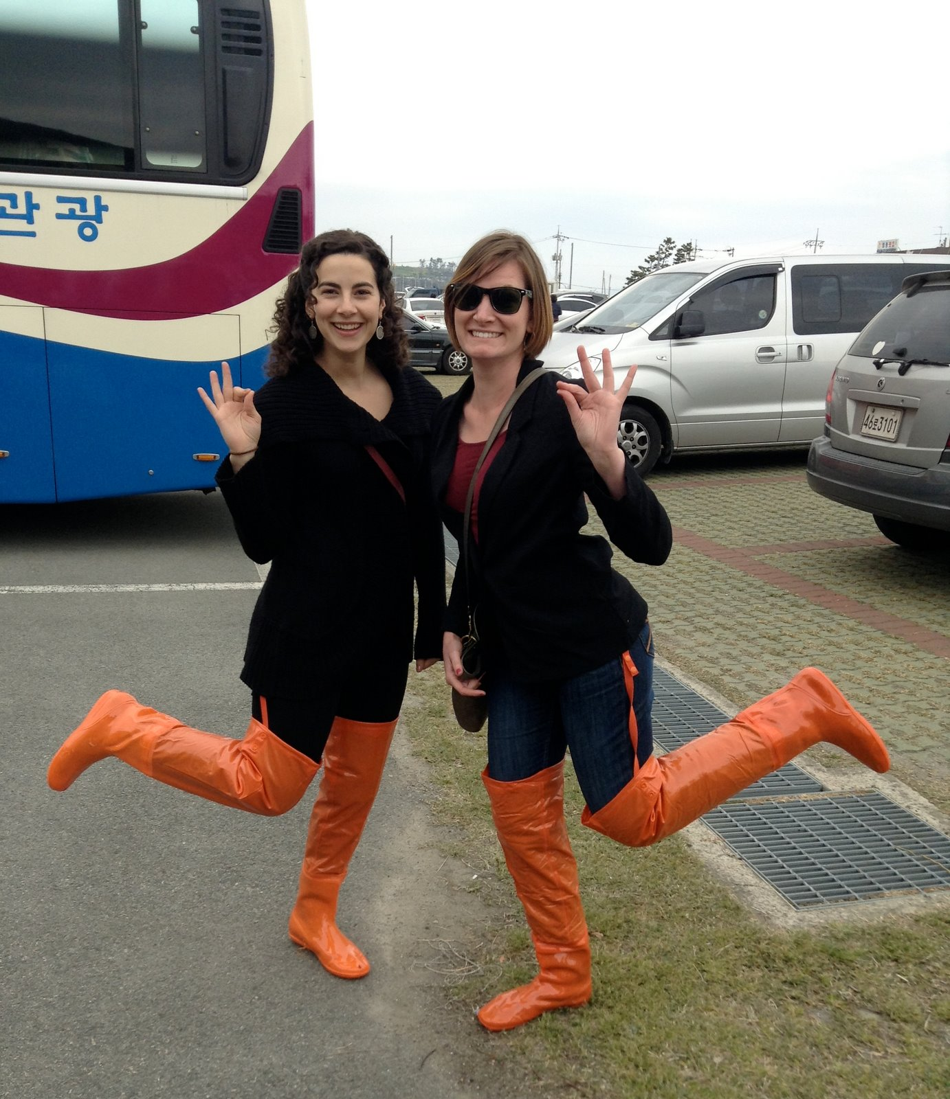 Wearing Knee-high Boots at the Sea Parting Festival -